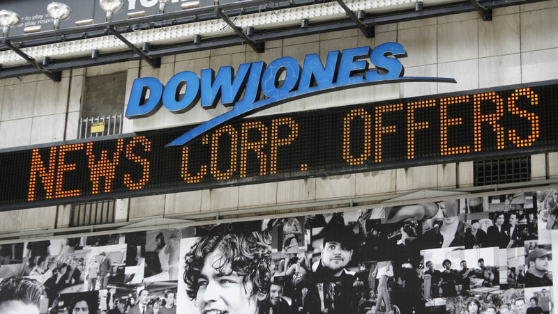 APTOPIX NEWS CORP DOW JONES